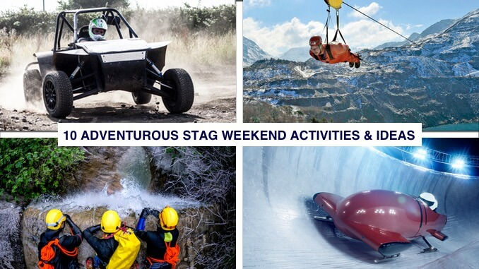 design a venture stag weekend ideas